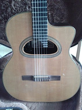 GUITARE MANOUCHE Maurice DUPONT MCC100
