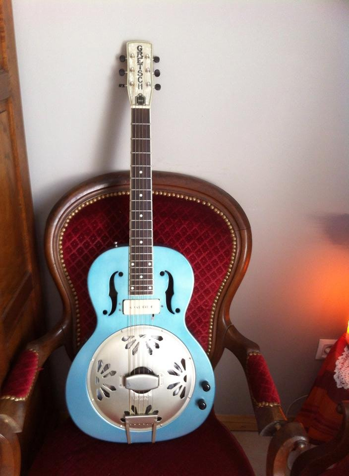 Guitare à résonateur Gretsch