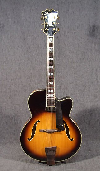 Guitare jazz archtop Peerless Monarch